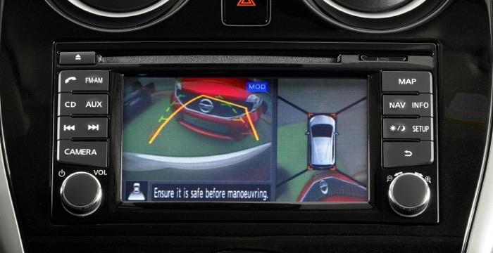 Nissan-Note-display