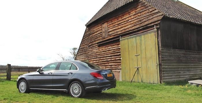Mercedes-Benz-C-350-e-DrivingDutchman-Achterzijde