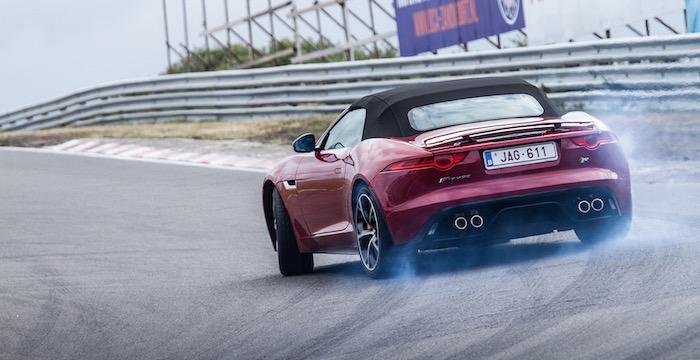 Een vette Driving-Dutchman trackday met Jaguar XE's, F-Type's én Robert Doornbos
