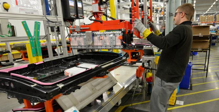 Nissan-Leaf-EV-accu-productie-Sunderland