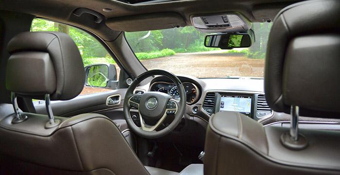 De nieuwe Jeep Grand Cherokee, cruisen op hoog niveau interieur
