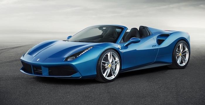 Ferrari 488 Spider RHT nieuw speeltje voor de rijken Driving-Dutchman