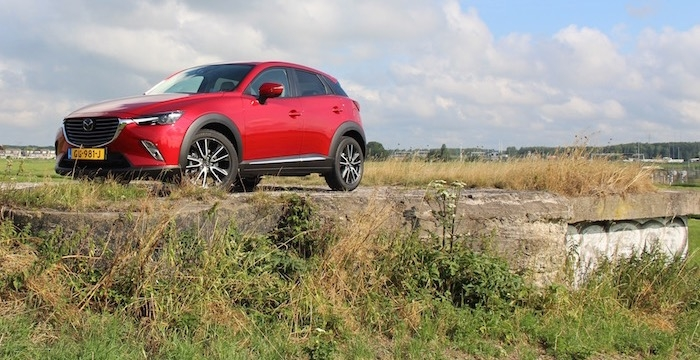 Mazda CX-3 Driving-Dutchman