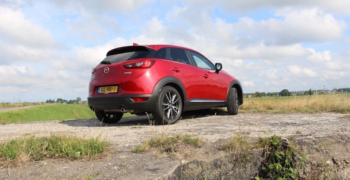 Mazda CX-3 autotest Driving-Dutchman