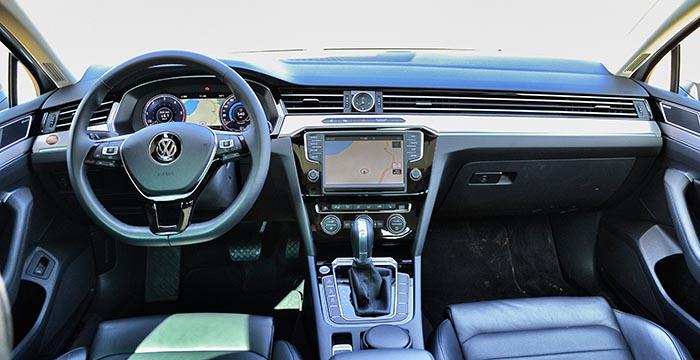 Volkswagen-Passat-interieur