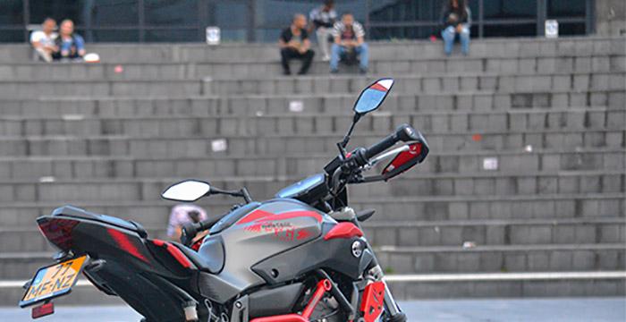 Yamaha MT-07 Moto Cage back