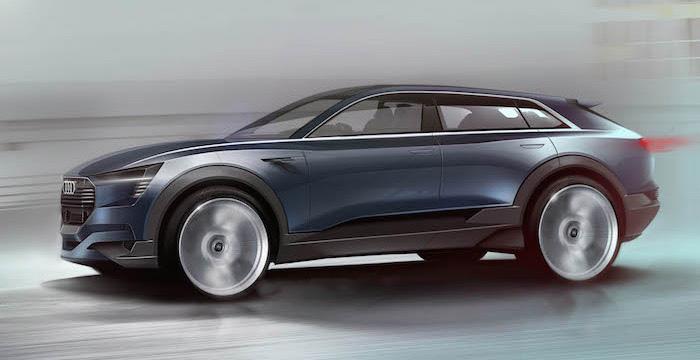 Audi ontwikkelt samen met LG en Samsung een elektrische SUV Driving-Dutchman