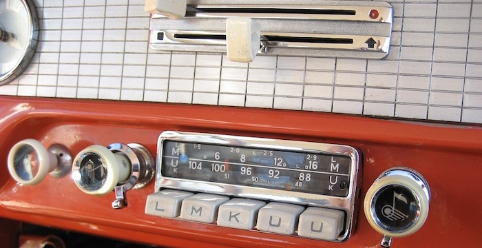 Eerste autoradio Driving-Dutchman