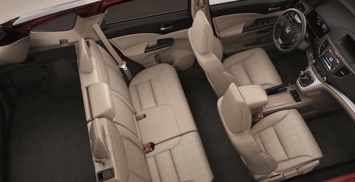 Honda CR-V, ruim, ruimer, ruimst