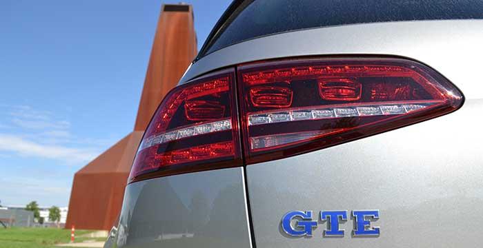 De Volkswagen Golf GTE kan hybride benzine verslaan 2