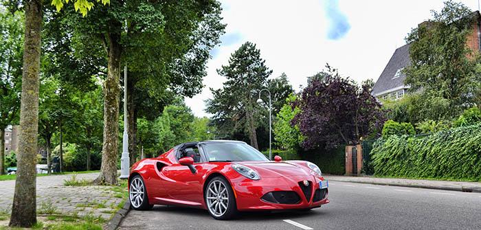 Een proeverij van Alfa Romeo 3