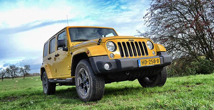 Een iconische alleskunner de Jeep Wrangler Unlimited 1