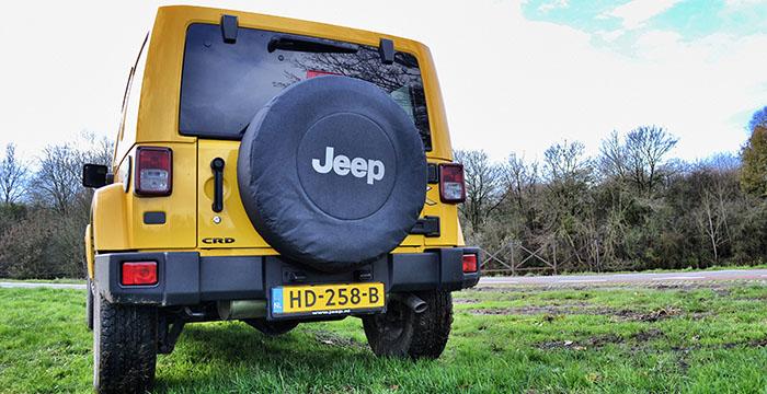 Een iconische alleskunner de Jeep Wrangler Unlimited 3