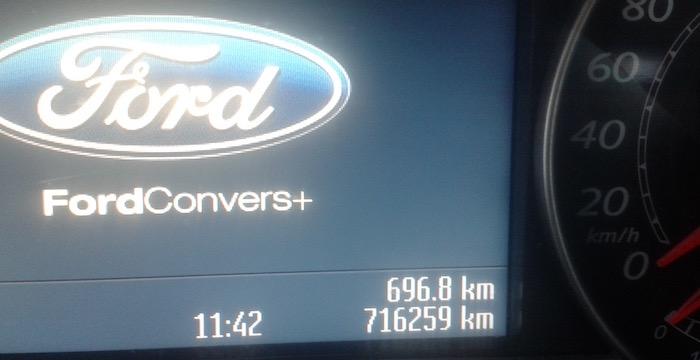 Kilometer-vretende Ford S-MAX TDCi Driving-Dutchman