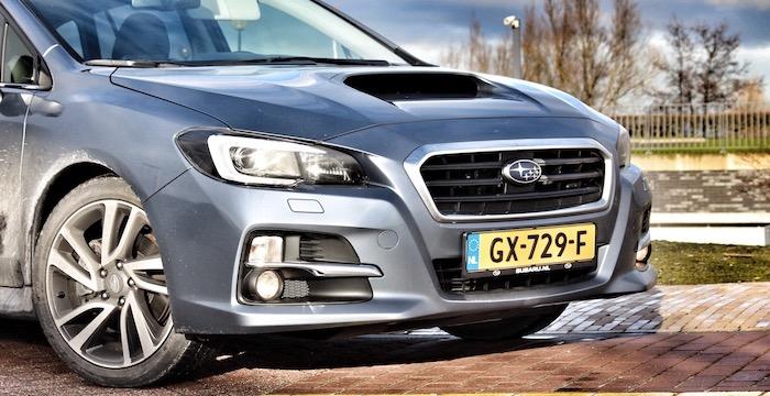 Subaru Levorg front Driving-Dutchman