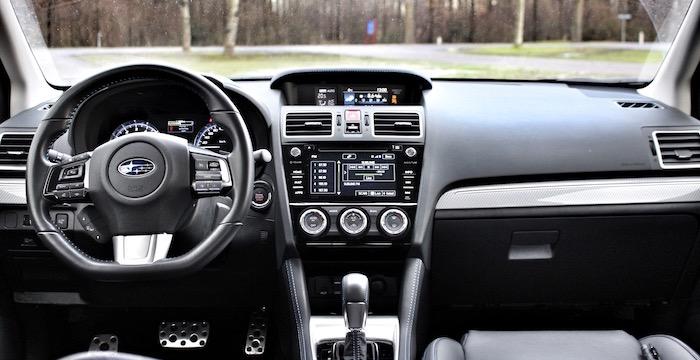 Subaru Levorg interieur Driving-Dutchman