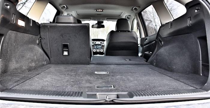 Subaru Levorg kofferruimte Driving-Dutchman
