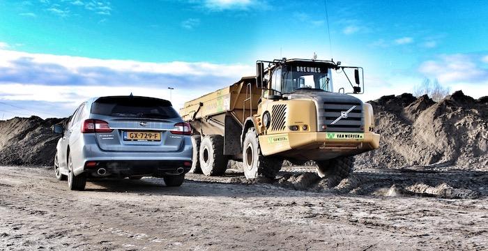 Subaru Levorg rear Driving-Dutchman