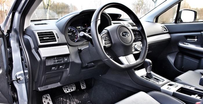 Subaru Levorg stuur Driving-Dutchman