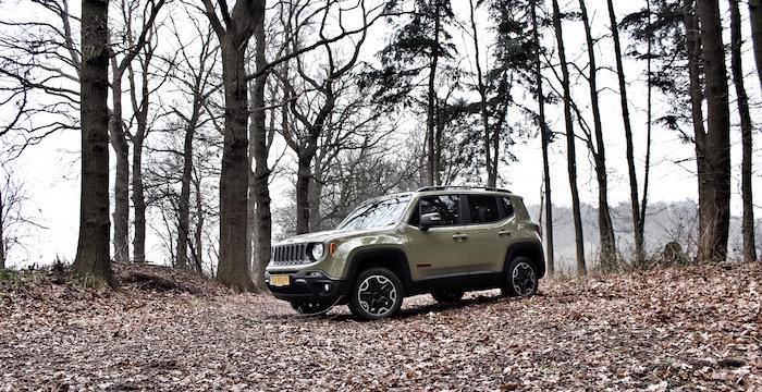 Jeep Renegade Trailhawk Driving-Dutchman vol