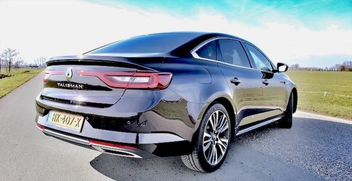 Renault Talisman Driving-Dutchman achterkant