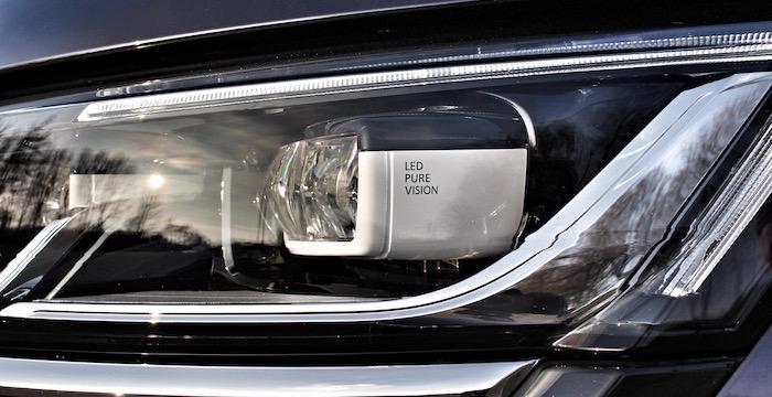 Renault Talisman Driving-Dutchman koplamp detail