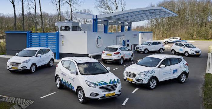 TU Delft maakt rijdende energiecentrale van Hyundai waterstofauto