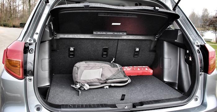 Suzuki Vitara S Driving-Dutchman kofferruimte