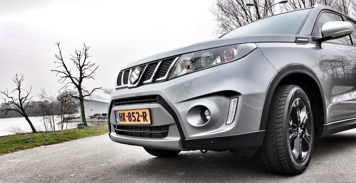 Suzuki Vitara S Driving-Dutchman schuin front