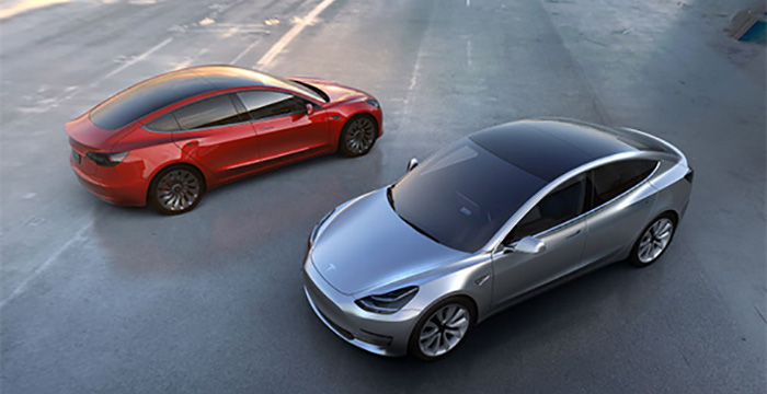 Tesla Model 3 onthuld, de gamechanger 1
