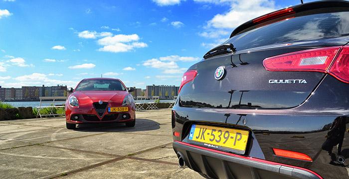 Update van de Alfa Romeo Giulietta, geslaagd 2