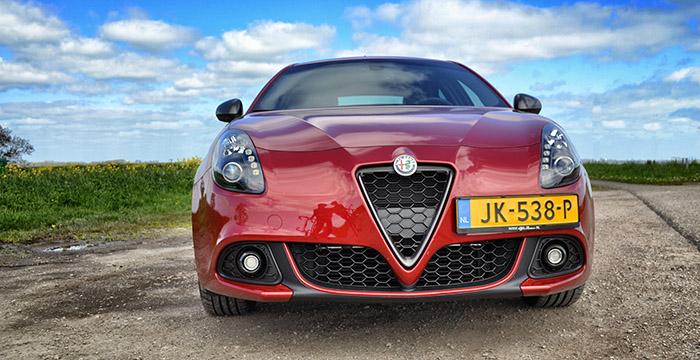 Update van de Alfa Romeo Giulietta, geslaagd 3