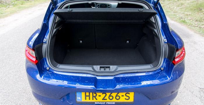 Renault Mégane kofferbak