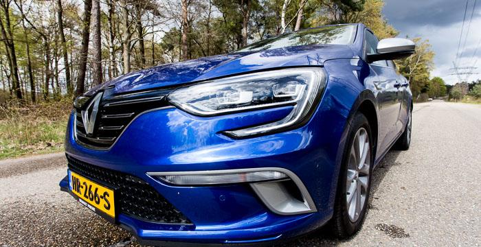 Renault Mégane voorzijde