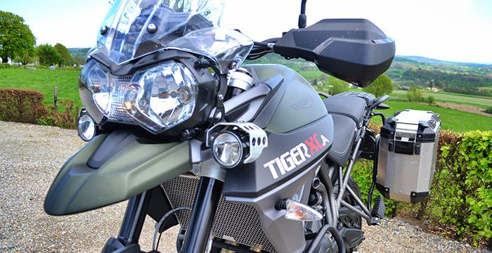 Review Triumph Tiger, Honda Africa Twin, BMW S 1000 en Suzuki V-Strom 5