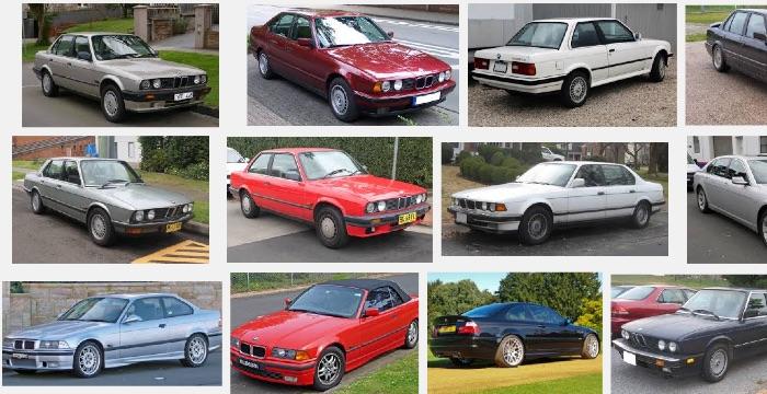 BMW-Sedans-Old-Newer