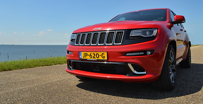 Jeep Grand Cherokee SRT, the bad boy 6