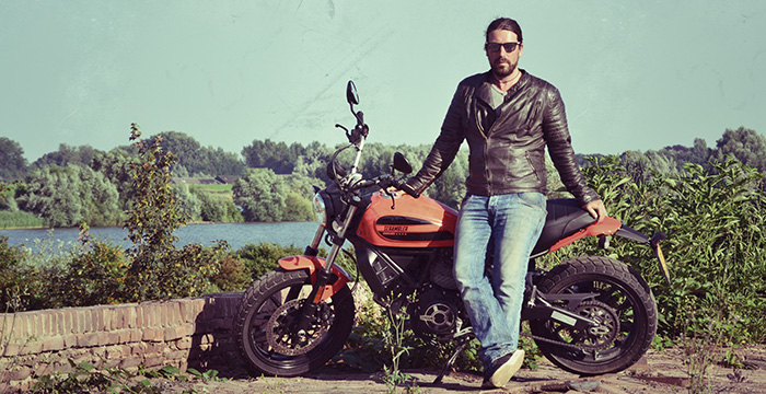 De Scrambler Sixty2, een echte Ducati 2