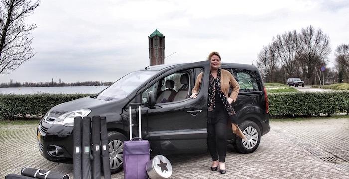 Ingrid Claasen Ik kan niet zonder auto Driving-Dutchman 1