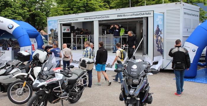 Ook de buitenlandse BMW clubs zijn aanwezig