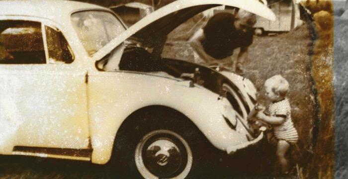 Paul van den Berg is al sinds hij baby was gek op auto's Driving-Dutchman