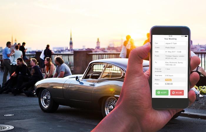 Huur of verhuur een klassieke auto in 30 seconden met BookAclassic