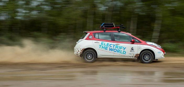Van Schotland naar Mongolië in een elektrische auto, Nissan gaat 't doen in de Mongol Rally