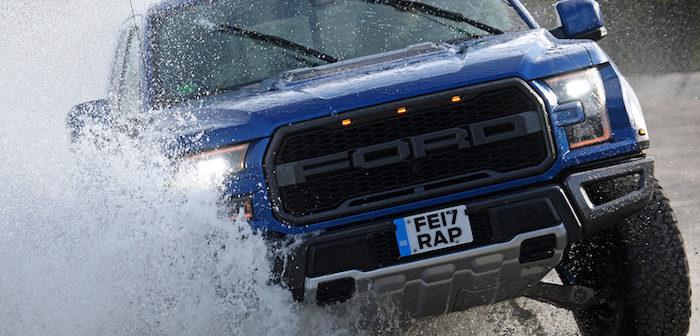 Ford F-150 Raptor Driving-Dutchman autotest rijtest bedrijfswagen bestelwagen pick-up truck