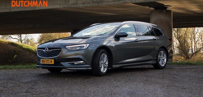 Opel Insignia Sports Tourer Driving-Dutchman autotest rijtest