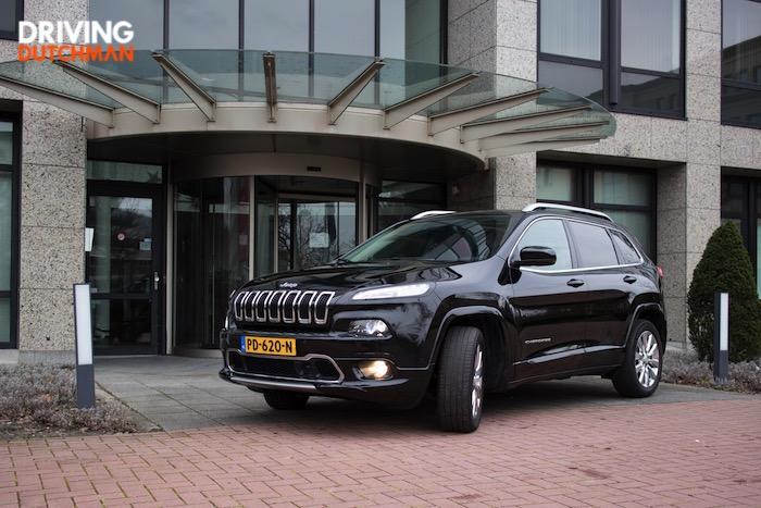 Jeep Cherokee 2.2 CRD GrandLand rijtest autotest driving-dutchman