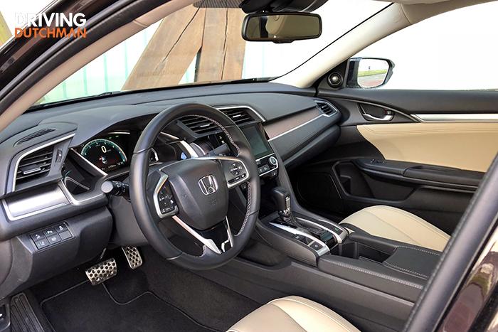 Rijtest Honda Civic 4-deurs
