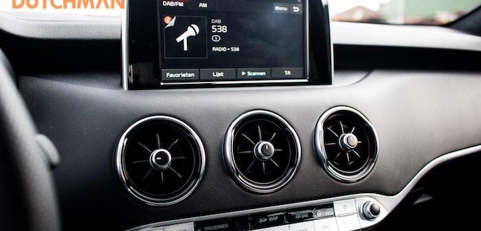 Rijtest Kia Stinger GT 3.3 Twin-Turbo V6 AWD autotest Driving-Dutchman infotainment