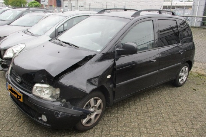Total loss Hyundai Matrix gerepareerd dealer