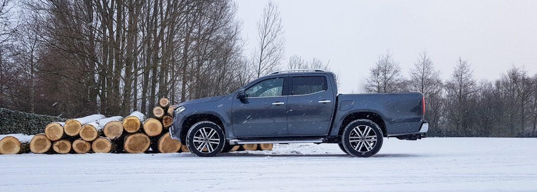 Autotest Mercedes-Benz X-Klasse Rijtest Driving-Dutchman pick-up bedrijfswagen bestelwagen
